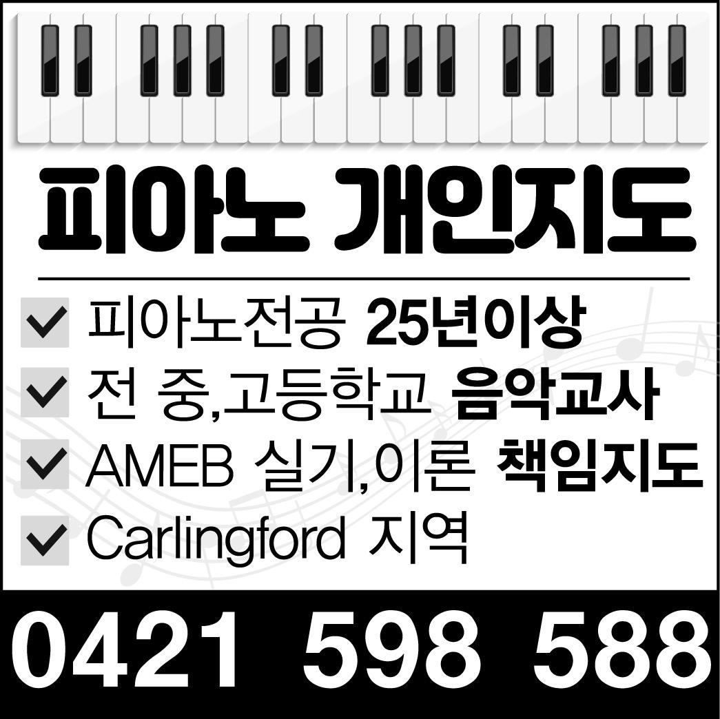 피아노 개인지도 합니다.