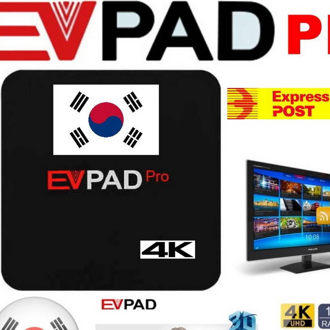 무료 우송료 한국 IPTV TV 박스 EVPad Pro