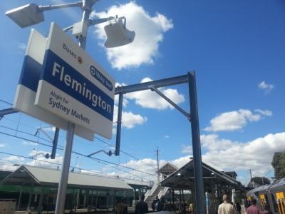 플래밍턴 역에서 5~6분 플래밍턴 마켓 가까움 마스터룸