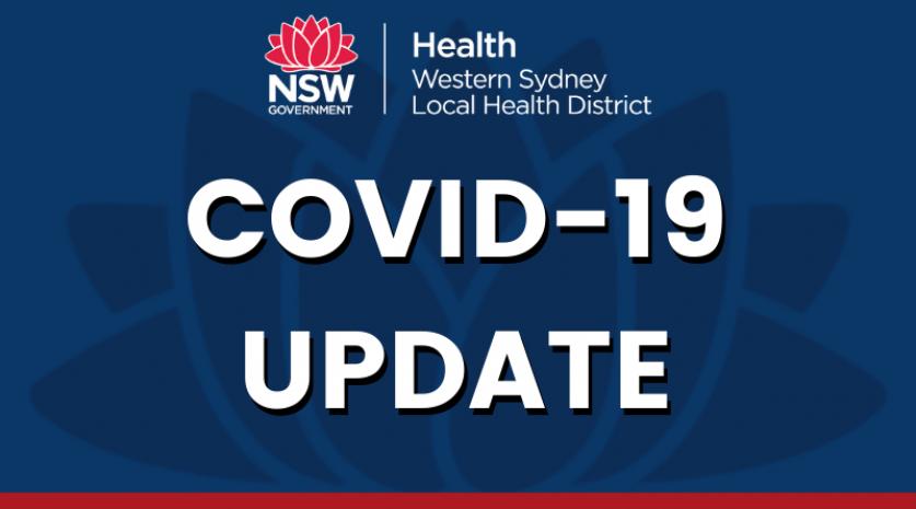 NOVEL CORONAVIRUS (COVID-19) UPDATE – Thursday 29 July 2021