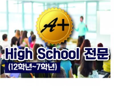 A+ 하이스쿨 전문 (12학년~7학년)  멘토링 시스템